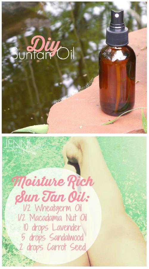 DIY Sun Tan Oil