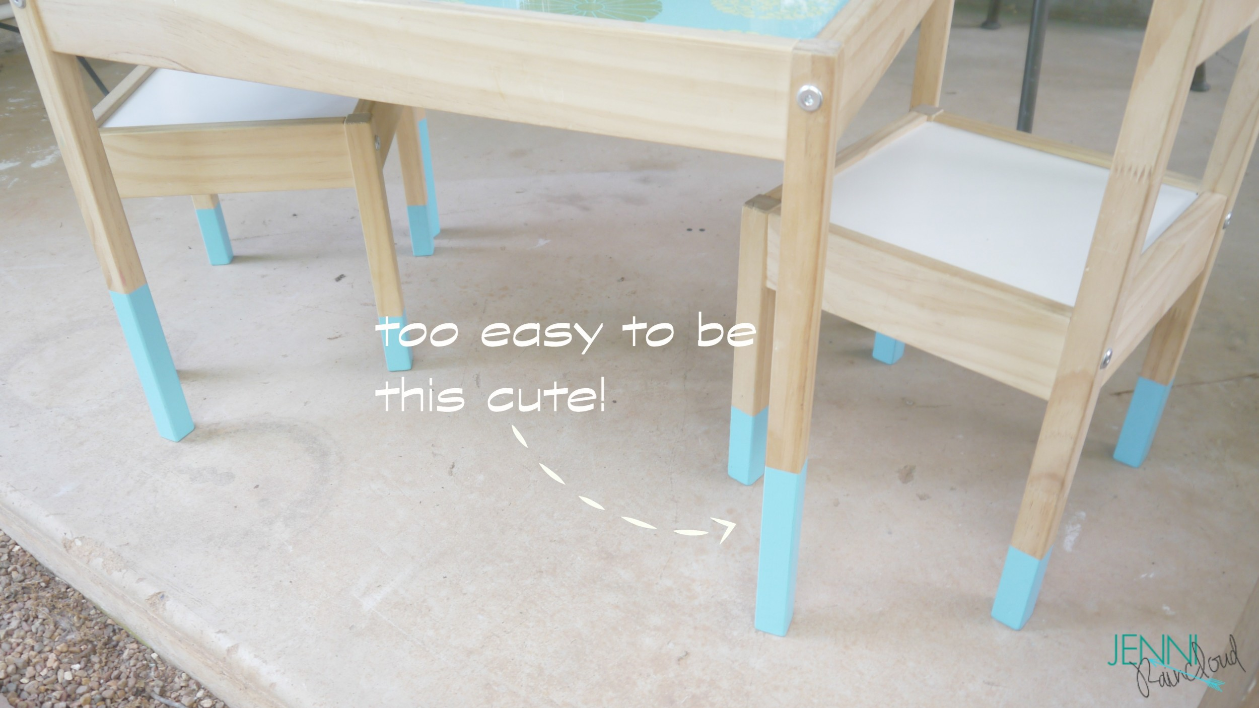 paint dipped table 2