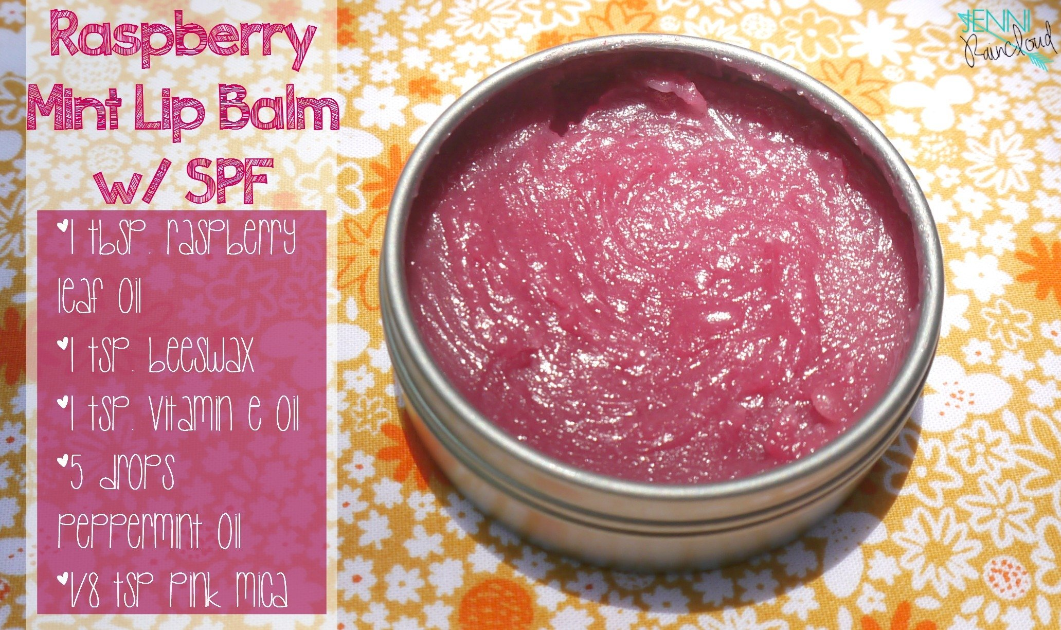 Raspberry Mint Lip Balm