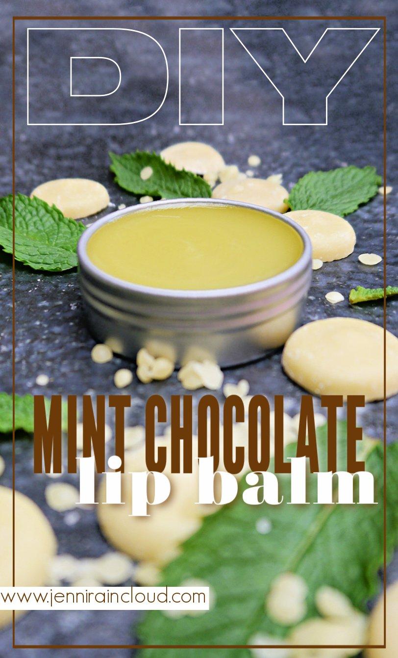 DIY Mint Chocolate Lip Balm