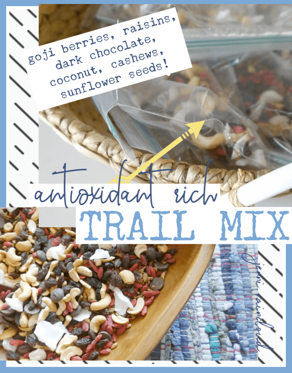 Antioxidant Rich Trail Mix