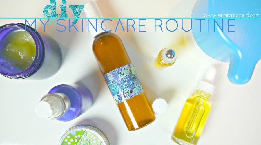 skin care routine slider