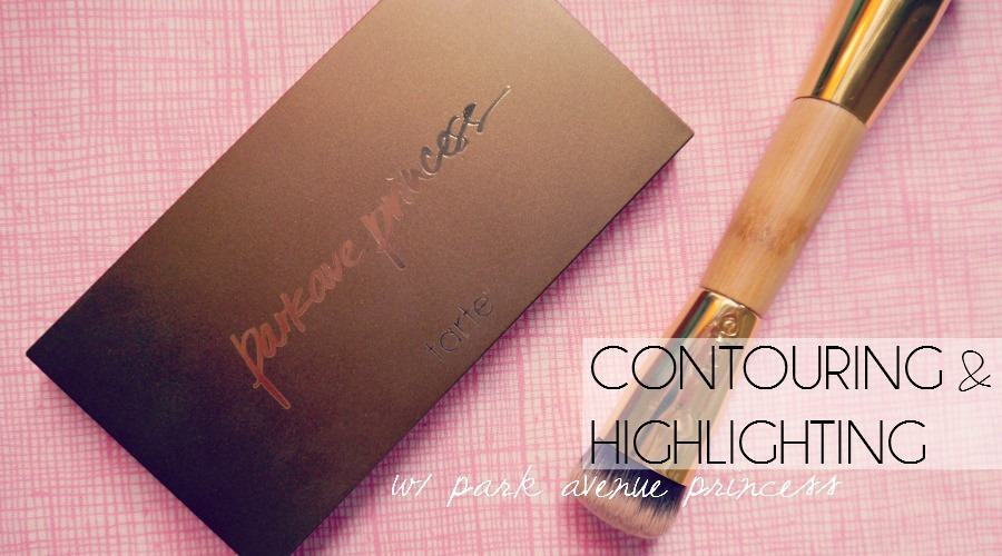 Contouring and Highlighting with Tarte's Park Avenue Princes Contour Palette