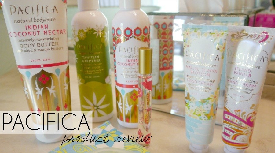 Pacifica Body Product Review