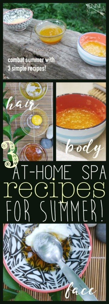 At Home Spa for Summer