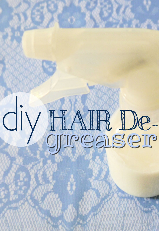 DIY Hair Degreaser