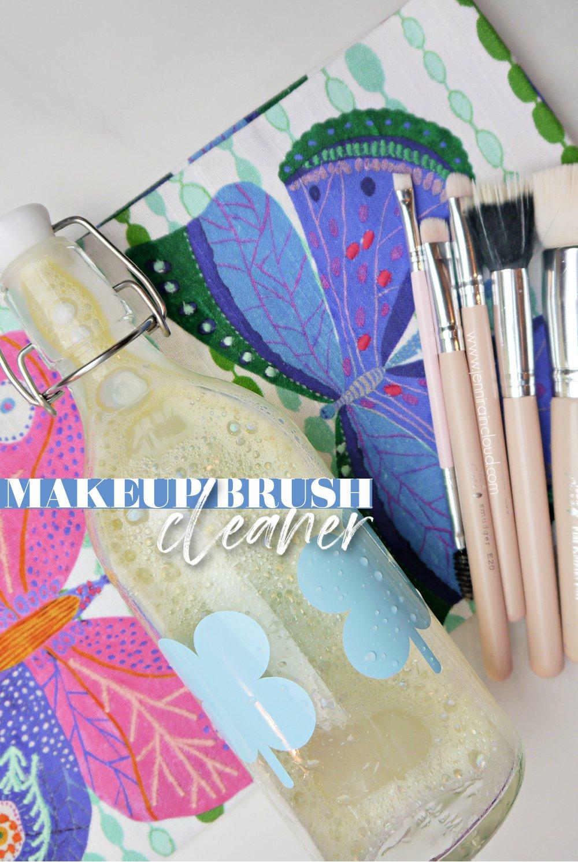 DIY Makeup Brush Cleanser