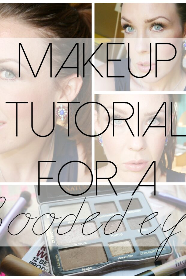 Makeup Tutorial for a Hooded Eye