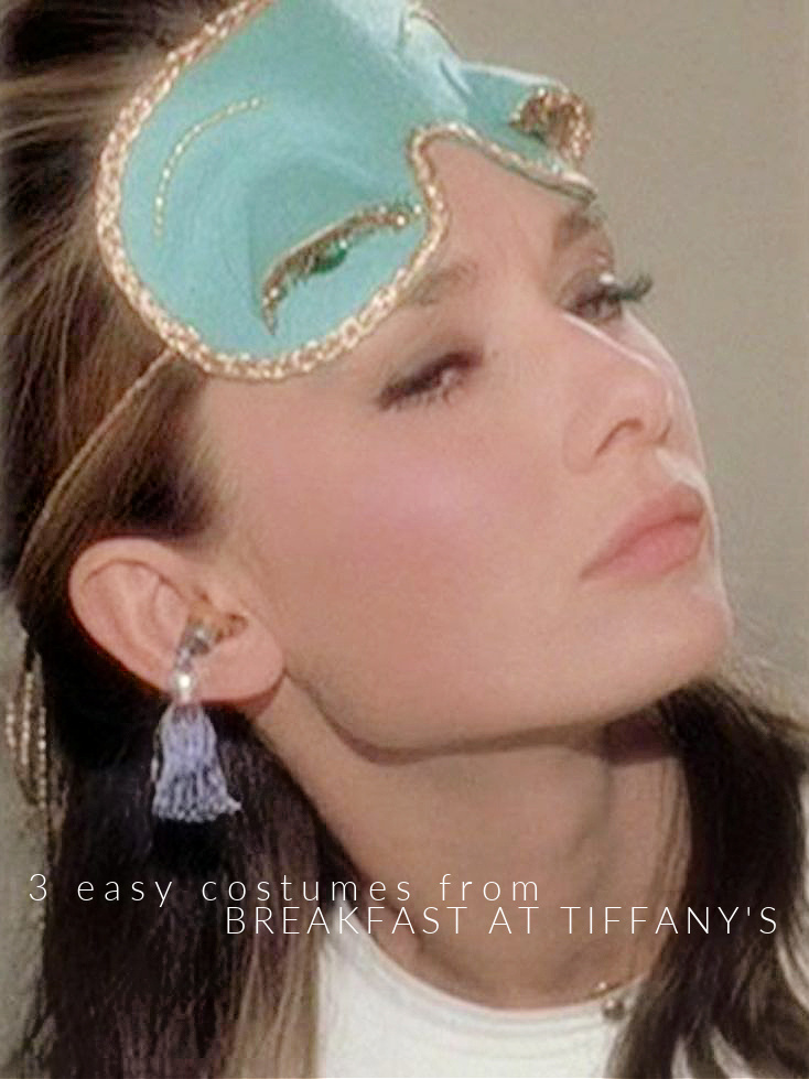 Easy Costumes from Breakfast at Tiffany's