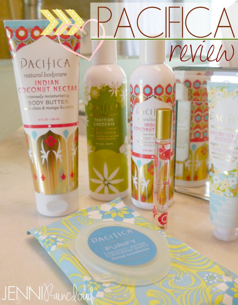 Pacifica Body Products Review…