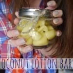 DIY Coconut Lotion Bars