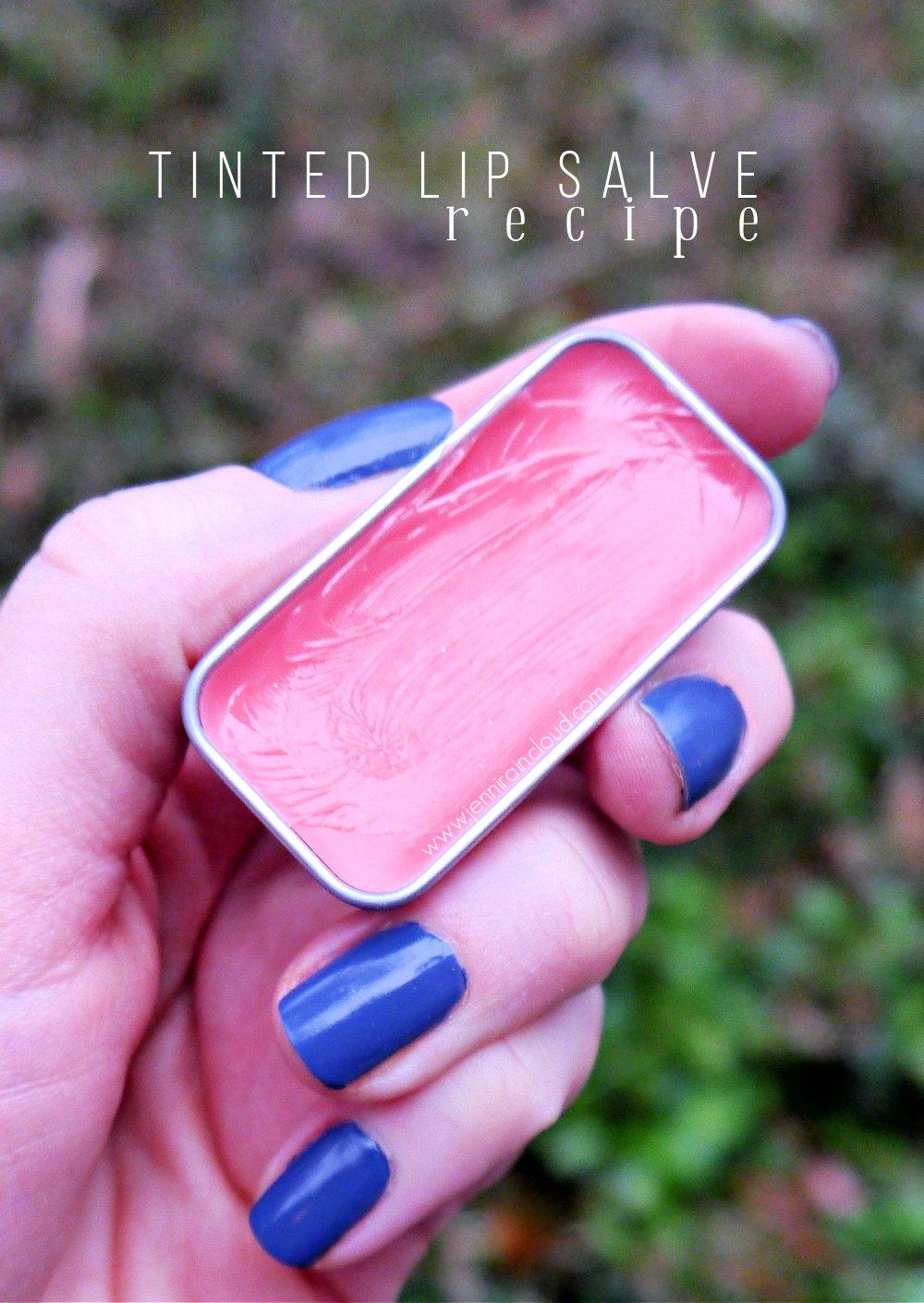 DIY Tinted Lip Salve