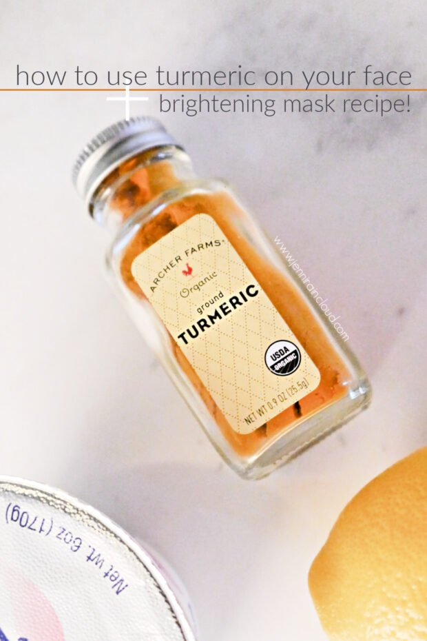 How to Use Turmeric on your face