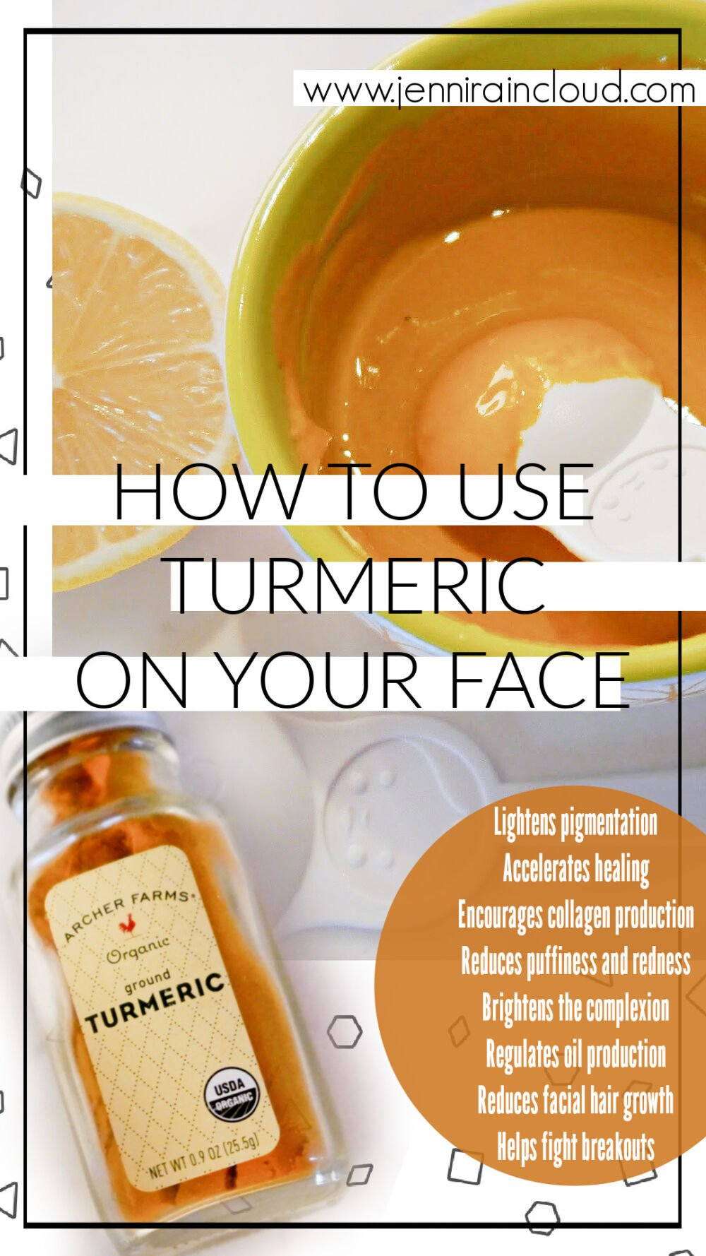 How to Use turmeric on the Skin
