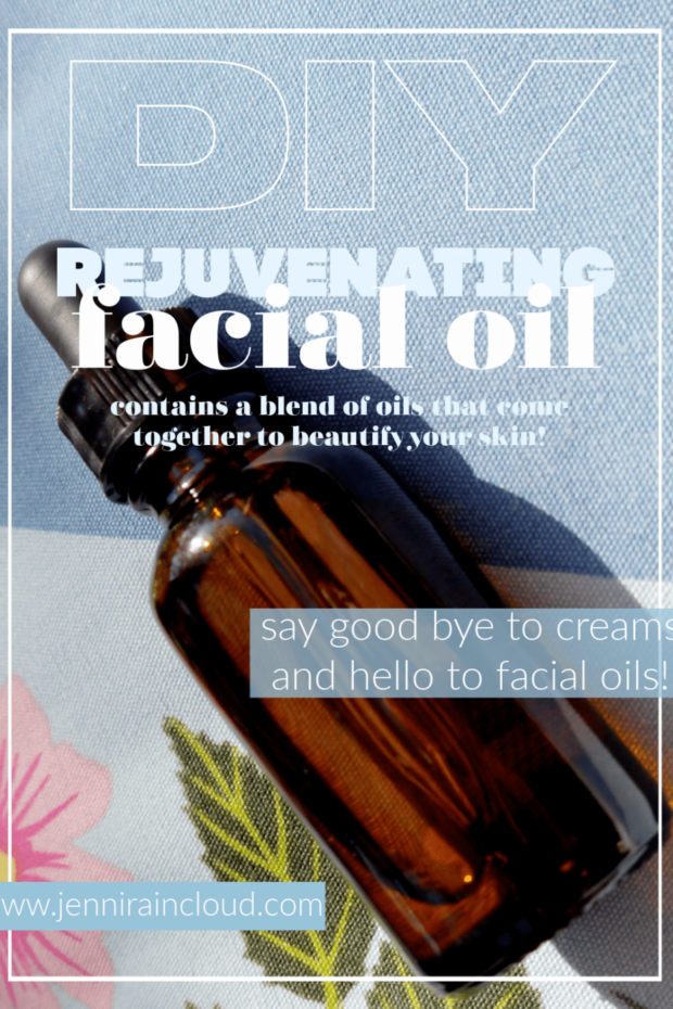 DIY Rejuvenating Facial Oil
