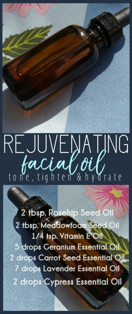 DIY Facial Oil with Rosehip Seed Oil