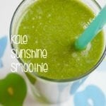 My Sunshine Kale Smoothie!