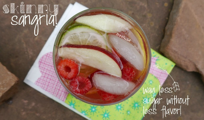 Skinny Summer Sangria for Those Hot Patio Nights!