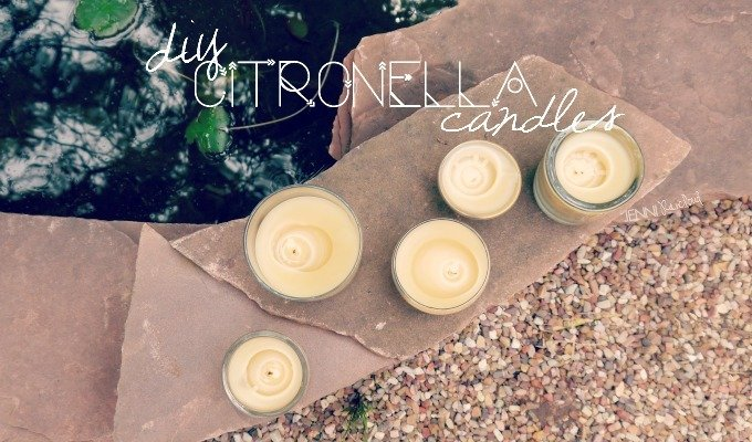 Citronella Beeswax Candles