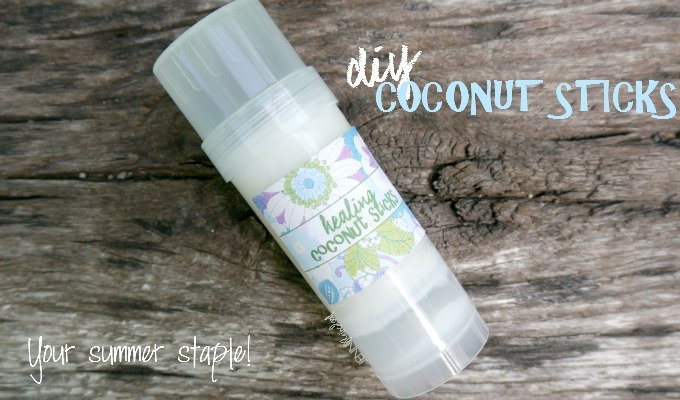 Coconut Sticks for Fast Healing!