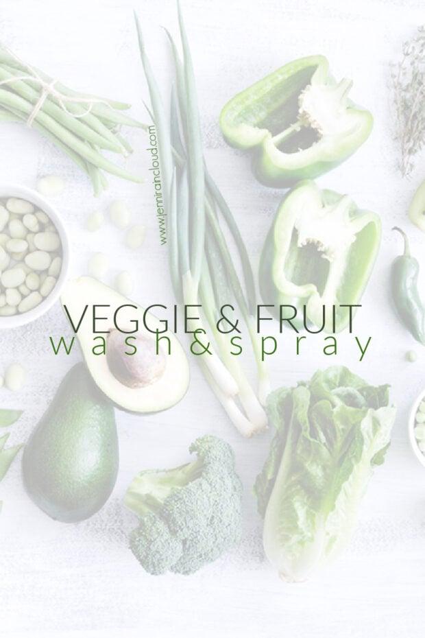 DIY Fruit & Veggie Wash