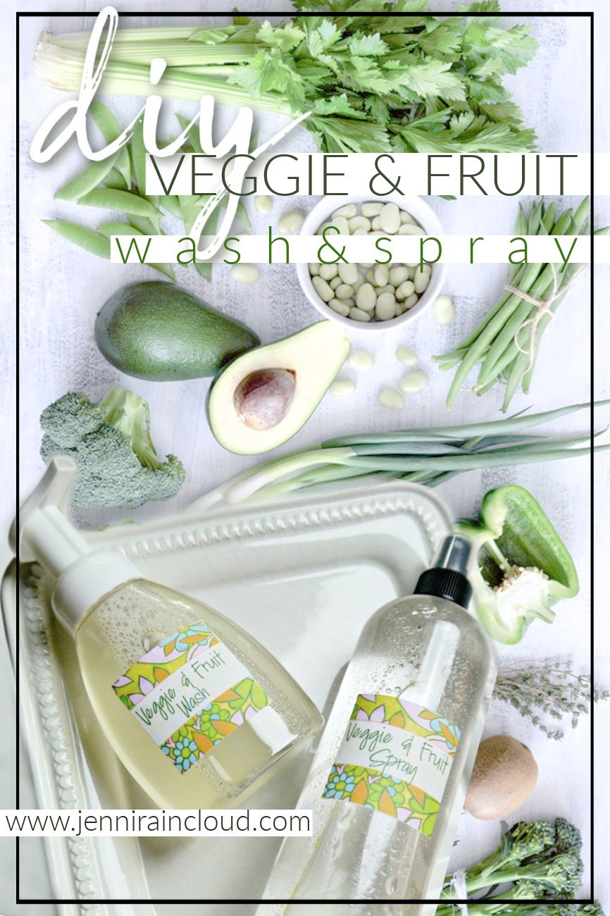 DIY Veggie Wash Pinterest