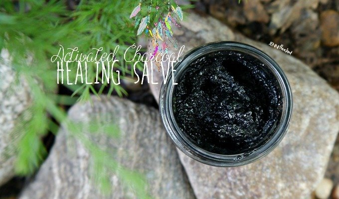 Activated Charcoal Healing Salve