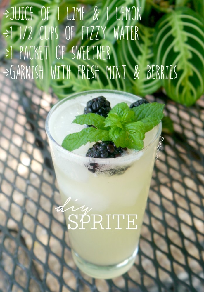 DIY Homemade Sprite