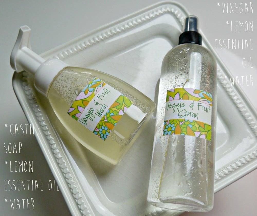 Veggie & Fruit Spray and Wash