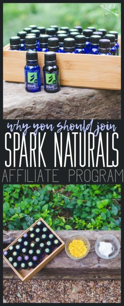 Spark Naturals affiliate program