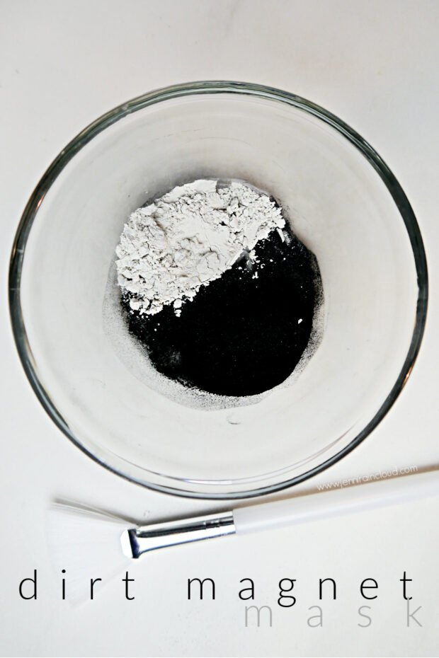 DIY Activated Charcoal and Clay Mask