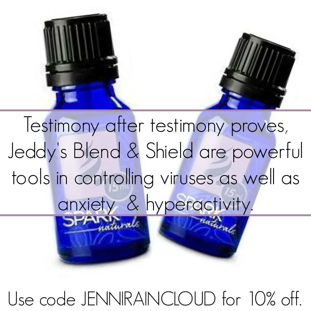 Spark Naturals Jeddy's Blend and Shield