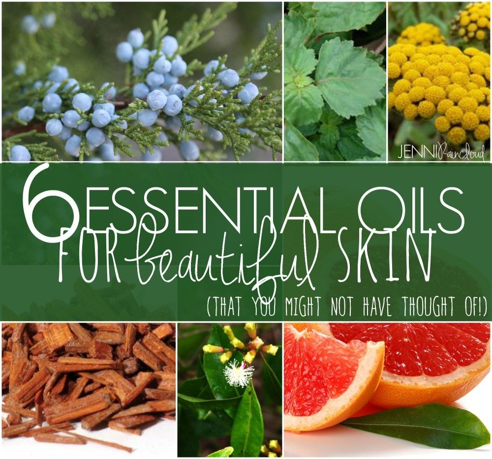 6 Essential Oils for Beautiful Skin…(that you might not have thought of!)