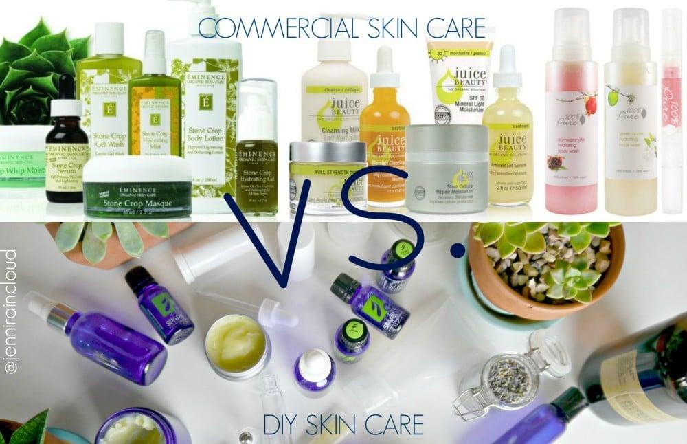 DIY Skin Care vs. Commercial Skin Care