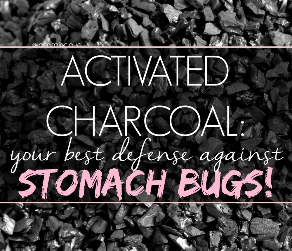 Activated Charcoal for Stomach Bugs…