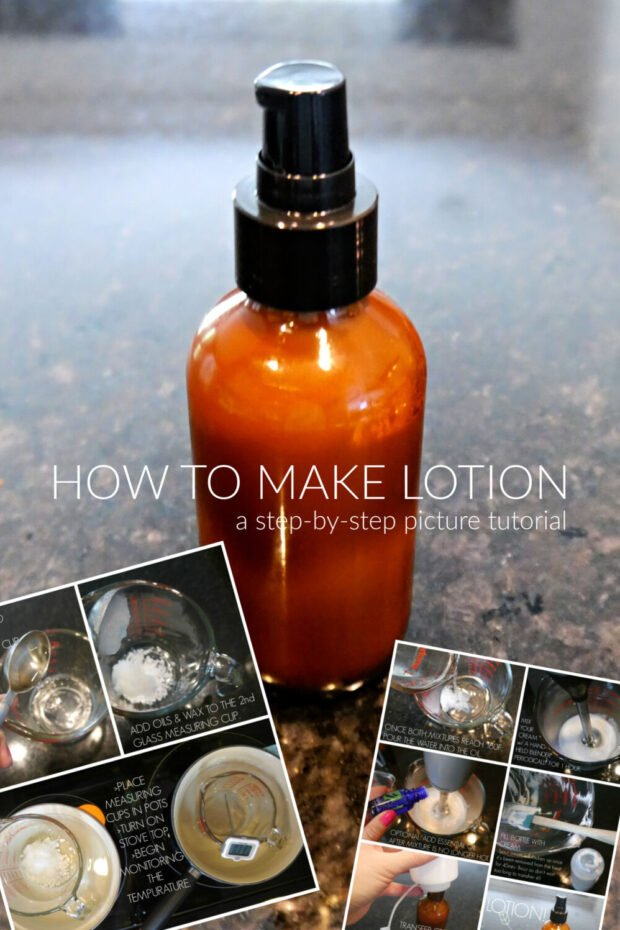 How to Make Lotion-Step by Step Picture Tutorial