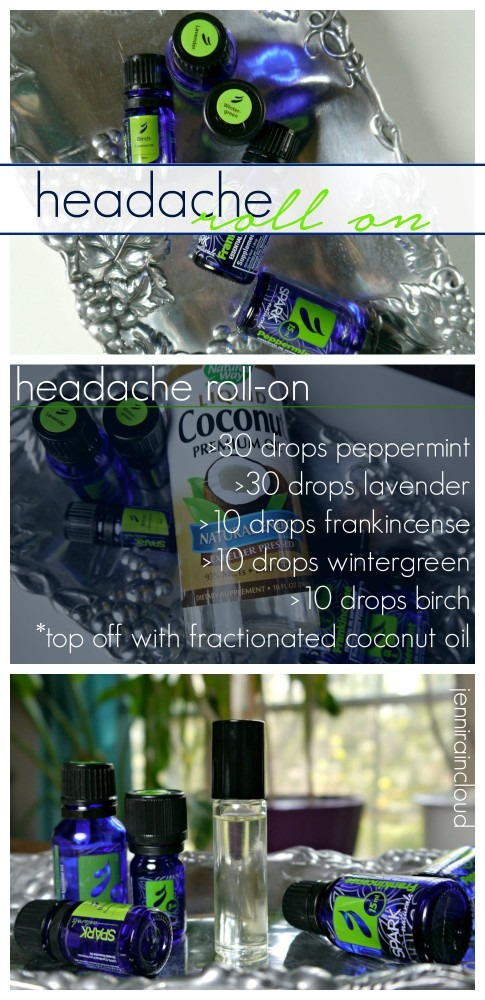 Head Ache Roll-On
