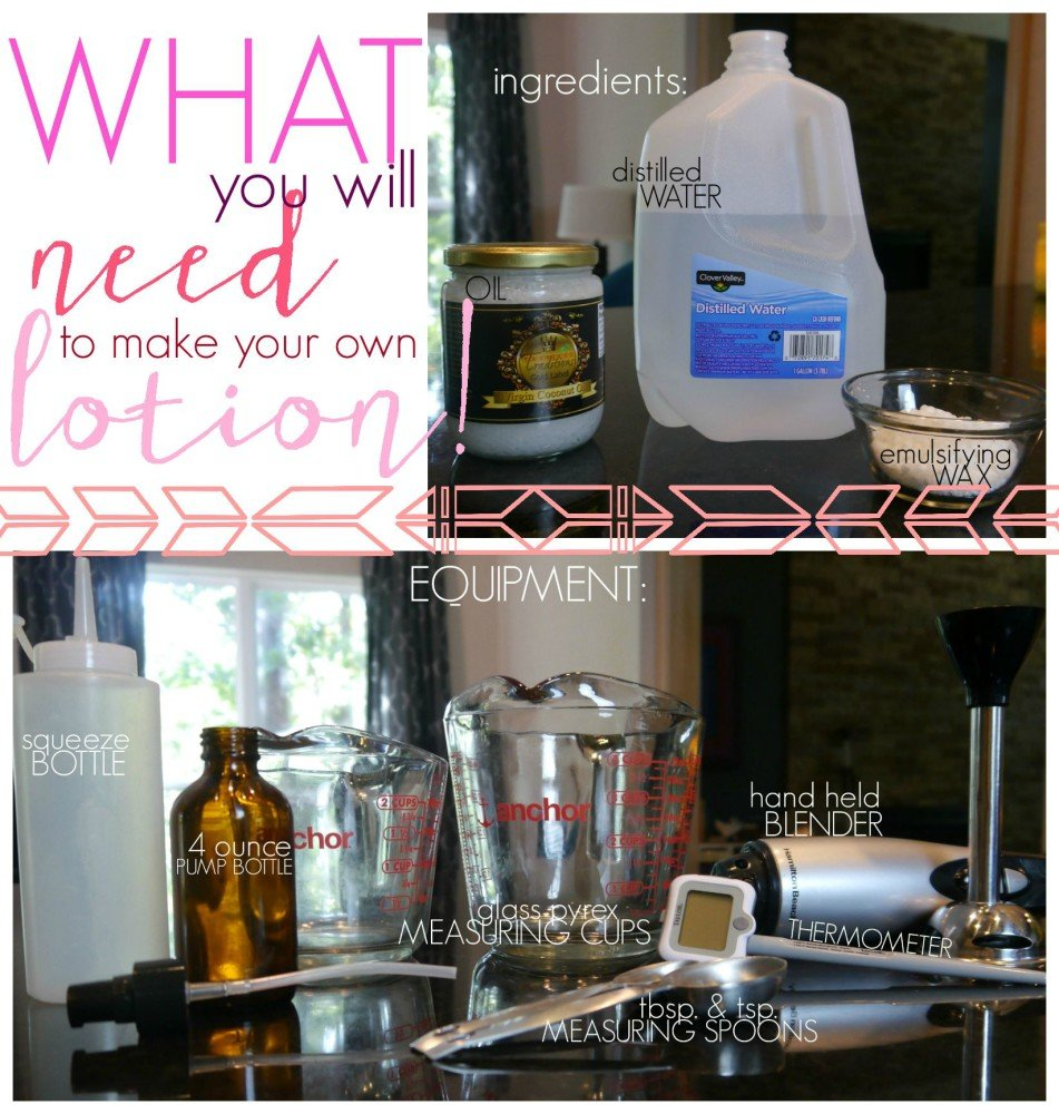 How to make DIY lotion