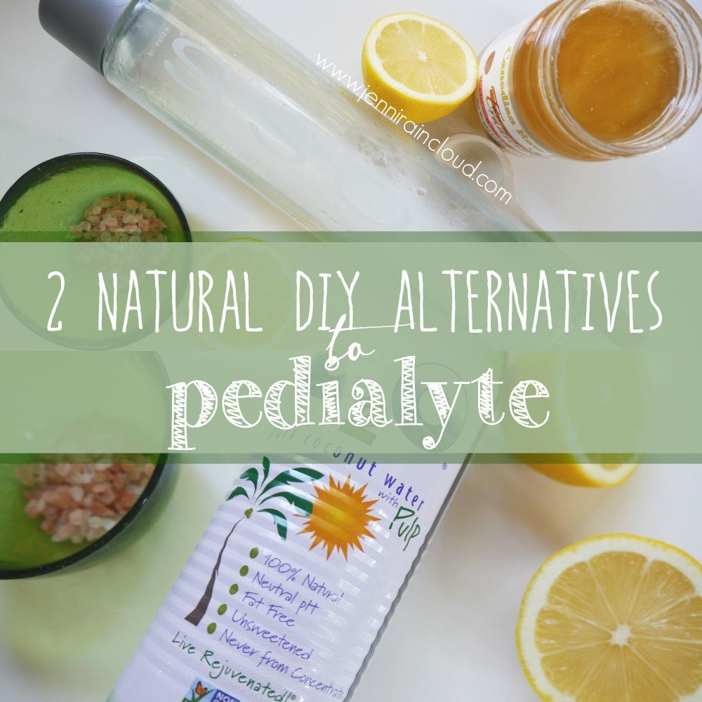 Natural DIY Pedialyte