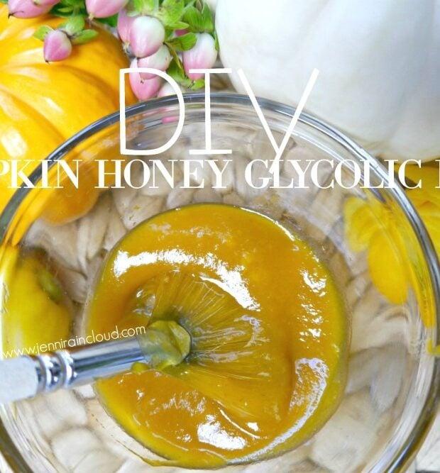 Pumpkin Glycolic Honey Mask