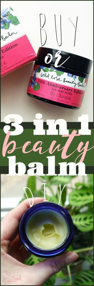 DIY 3 in 1 Beauty Balm