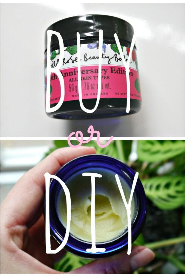 Wild Rose beauty Balm Homemade