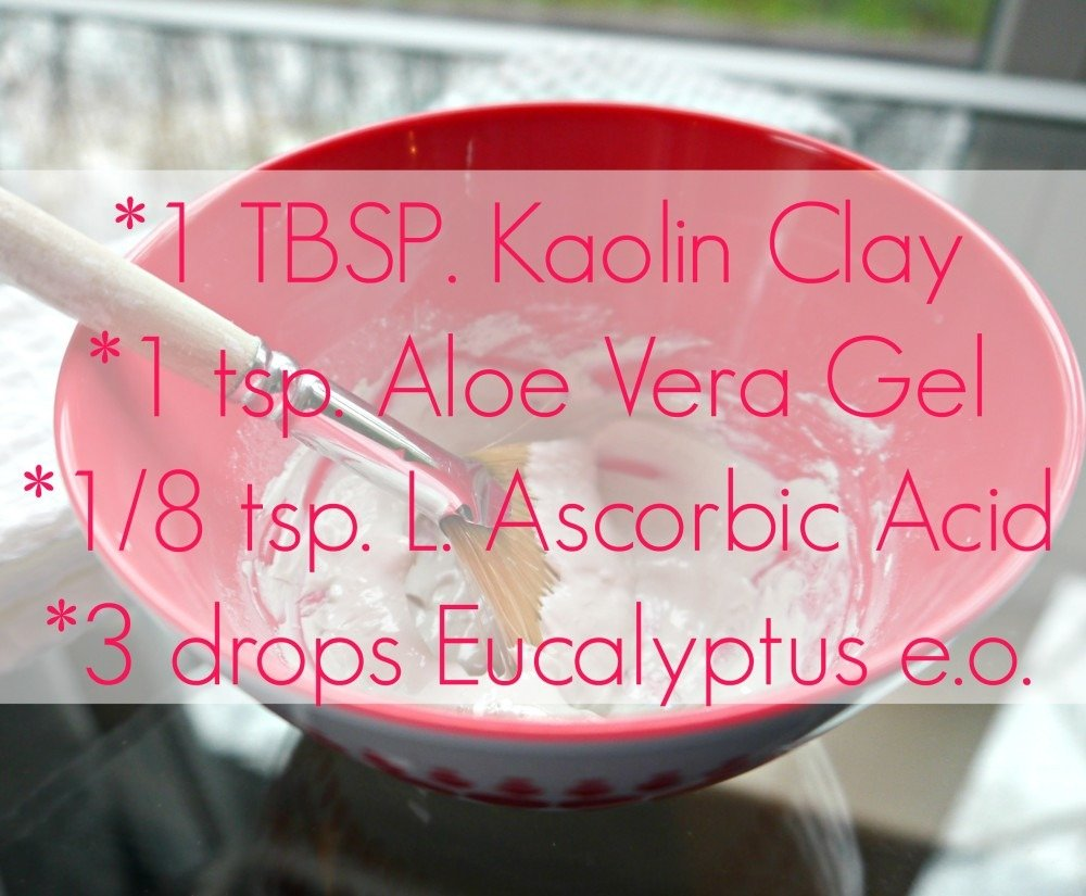 DIY Kaolin Clay Mask