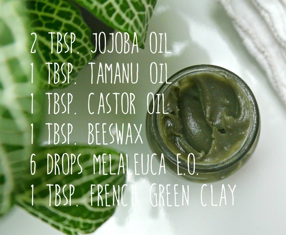 DIY Clay Oil Cleanser