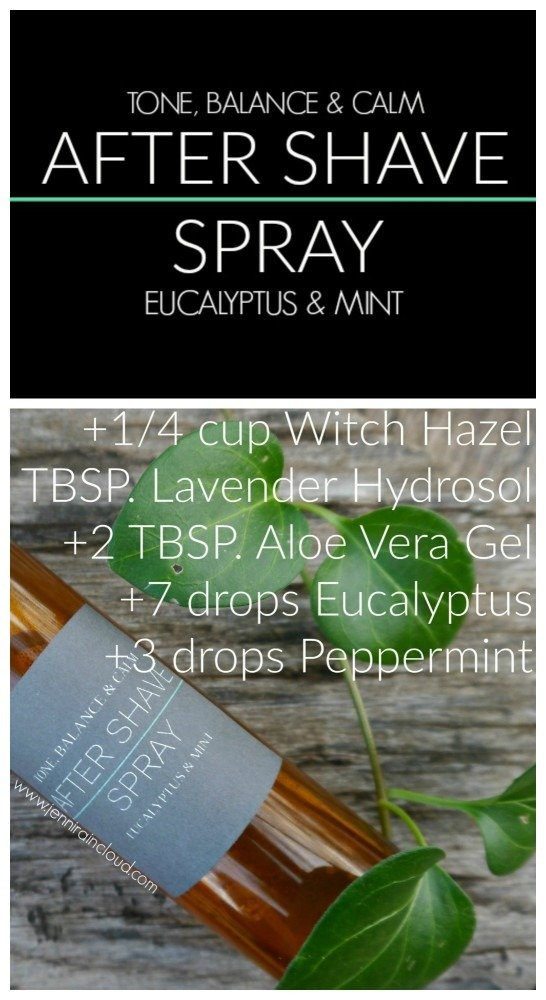 DIY After Shave Spray Recipe