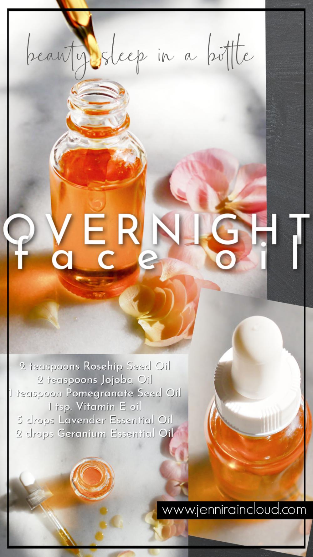 DIY Face Oil Beauty Sleep in a Bottle