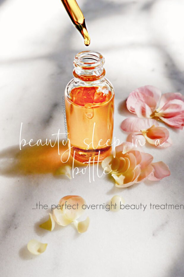 DIY Face Oil Beauty Sleep in a Bottle