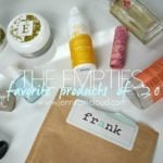 The Empties-My Favorite Beauty Products of 2015