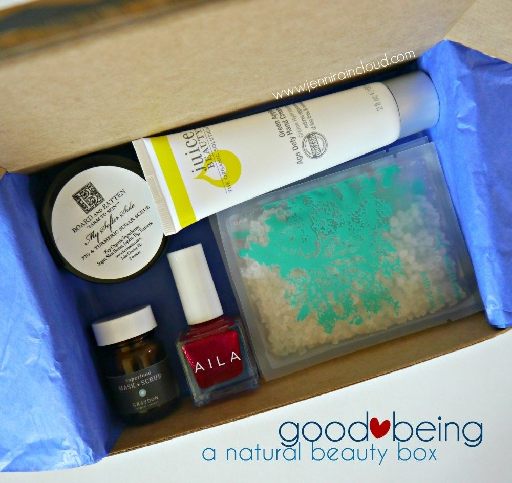 Good Being-A Natural Beauty Box Subscription