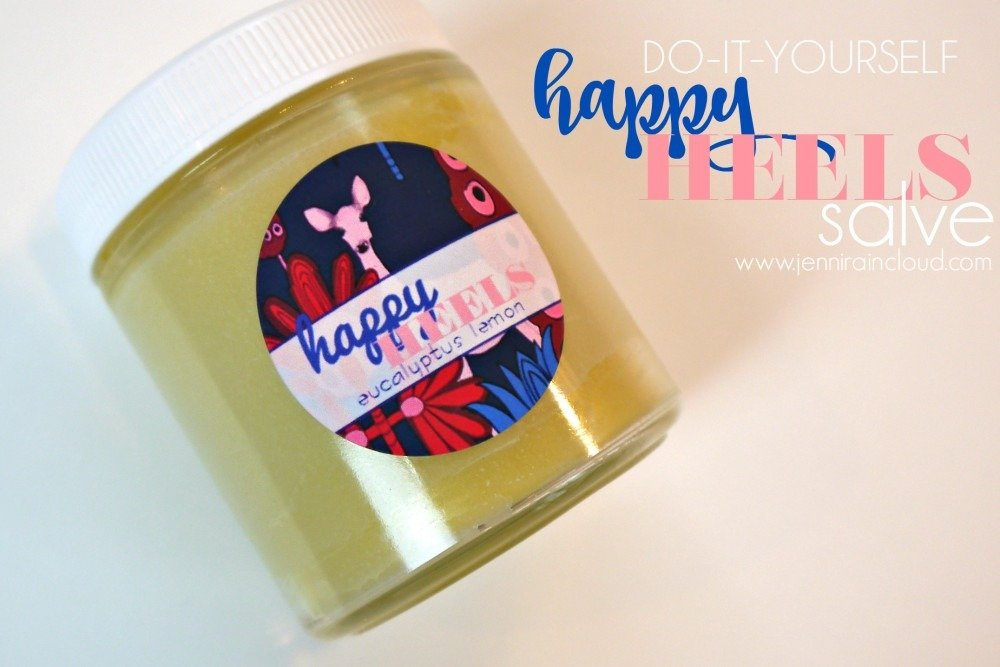 DIY Eucalyptus Lemon Heel Salve